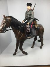 1/6 DRAGON GERMAN KUBAN COSSACK CAVALRY UNIT NCO & HORSE K-98 WW2 DID BBI 21ST