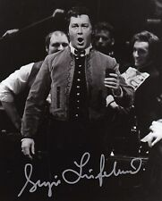 SERGEI LEIFERKUS opera baritone signed photo as Escamillo at the MET