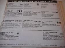 George Strait Billy Ray Cyrus BR5-49 Jeff Bates Deryl Dodd 2004 DJ CD