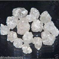 1.0 CT LOT 4.0-5.0 MM NATURAL WHITE RAW DIAMOND UNCUT ROUGH DIAMOND AFRICA Nr
