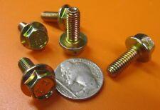 Flanged Cap Screw Bolt, Steel 8.8 Metric, PT, M6 x 1.0 x 16 mm Length, 100 Pc