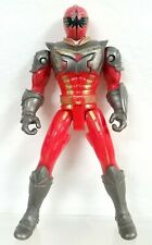 "Power Rangers 2006 Mystic Force 5"" Red Ranger driver figure (Mystic Tracker ATV)"