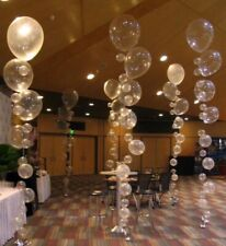 16 PC Clear Balloon Party Kit Bubbles Balloons, Under the Sea, Aisle Decor, DIY