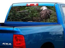 P426 American Eagle Rear Window Tint Graphic Decal Wrap Back Truck Tailgate