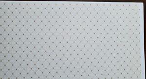 "Dollhouse Wallpaper Brodnax ""Gathering"" Beige Cream Neutral 1:12 Scale Miniature"