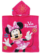 NEW BEACH POOL BATH HOOD TOWEL PINK DISNEY MINNIE MOUSE GIRL KID XMAS GIFT TOY'S