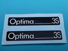 Hercules Optima 3S Trittbrett Aufkleber Dekor Schriftzug Verkleidung Sticker