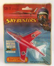 MATCHBOX SKYBUSTERS SB-11 Alpha Jet-Rouge/Blanc-Comme neuf/cardées
