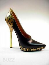 Maneater Black and Gold Leopard Very Limited Ed Only 393 Made Just the Righ Shoe