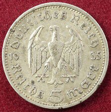 Germany 5 Reichsmark 1935 (B2402)