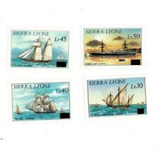 VINTAGE CLASSICS - Sierra Leone - 809-12 Ships - Set Of 4 - MNH