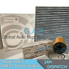Genuine BMW 3 Series F30 2012 > Oil Filter + Pollen Air Filter Service Kit