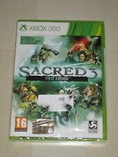 XBOX 360 : SACRED 3 : FIRST EDITION - Nuovo, sigillato, ITA ! Con DLC inclusi !