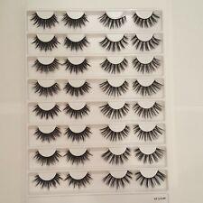 False Lash Look Book Fake Lashes Wispy & Spike Eye Lashes 16 pairs