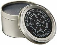 Black Candle Society Natural Soy Candle, Ritual (Frankincense/Sandalwood), 8 oz
