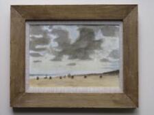 John Maddison (1952-) FINE British signed watercolour NORFOLK BEACH @ WAXHAM