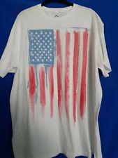 New listing Usa American Flag t-shirt Mens Size 2Xl White