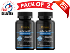 Alpha fuel xt Testosterone Booster,Male Enhancement, Strength, Stamina,Pack Of 2