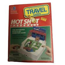 Milton Bradley Hot Shot Baseball Travel Game 1994