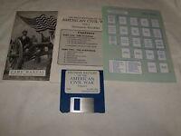 Decisive Battles of the American Civil War Vol. 1 (IBM/PC, 1991) 3.5 floppy disk