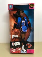 New NBA Barbie NEW YORK KNICKS African American Doll 20715