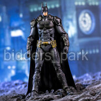 "7"" Batman vs Superman Armor BATMAN Action Figure Arkham Asylum Hero Toy"