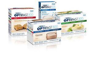 OPTIFAST® 800 POWDER SHAKES | CHOICE OF 01 BOX | CHOCOLATE, VANILLA, STRAWBERRY