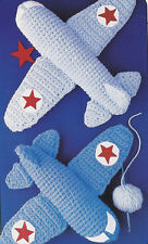 Crochet Pattern ~ Airplanes Kids Stuffed Toy Airplane ~ Instructions