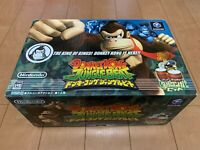 Donkey Kong Jungle  Beat Japan Gamecube Nintendo GC with Box,manual, Controller
