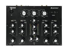 OMNITRONIC TRM-402 4-Kanal Rotary-Mixer Mischpult  mit 3-Band-Frequenz Mixer