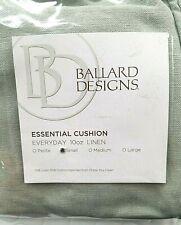 Open Bag - Ballard Essential Basic Cushion Cover Spa Small 10 Oz Linen