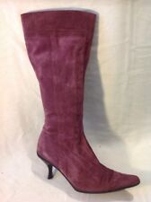 Russell & Bromley Violet Hautes Bottines en daim taille 38