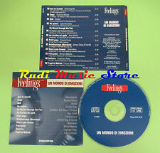 CD MONDO EMOZIONI compilation 2003 MADREDEUS ALMAMEGRETTA FRANCO BATTIATO (C20)