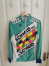 Vintage Cycling Jersey Jacket Long Sleeve Medium