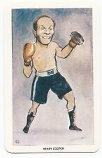 HENRY COOPER 1979 VENORLANDUS WORLD OF SPORT OUR HEROES BOXING CARD #1 of 48!