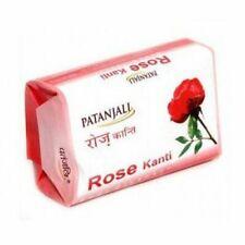 3 x Patanjali Herbal Rose Kanti Body Cleanser Soap 75g