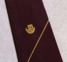 Vintage Tie MENS Necktie Crested Club Association Society ARK