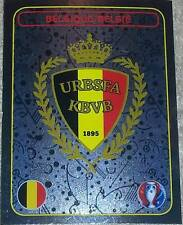 458 Belgique insigne Brillant PANINI EURO 2016 France Autocollant