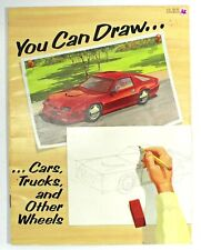 You Can Draw. Cars Trucks and Other Wheels Learn to Draw Using Basic Shapes