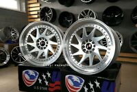 New 18 5x120 ROTIFORM Style stance deep dish wheels for BMW 3 5 6 F series rims