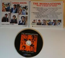 cd: THE MODULATIONS - WITH A MADE UP MIND - JAPAN - GOSPEL