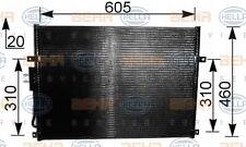 8FC 351 037-481 Hella Kondensator Klimaanlage