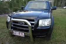 "Ford Ranger PJ 2006-2009 PK 2009-2011  3"" Stainless Steel Nudge Bar"