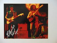 """""""The Wailers"""" Junior Marvin Signed 10X8 Color PhotoW/Drawing Todd Mueller COA"""