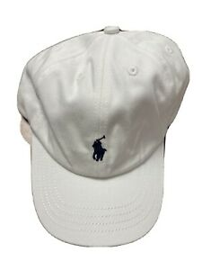 polo ralph lauren cap white for kids 4-7