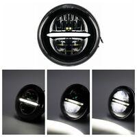 """5.75"""" LED Scheinwerfer Für Harley Davidson Sportster 883 XL1200 Dyna Softails"""