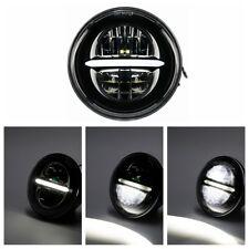 "Motorrad 5-3/4"" LED Scheinwerfer Lamp Für Harley Sportster XL 883 1200 Dyna"
