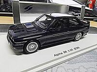 BMW M3 3er Reihe E30 Alpina Tuning B6 3.5S 3.5 blue blau NEW spark Resin 1:43