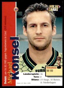 Panini WM98 Cards Austria - Michael Konsel No. 55