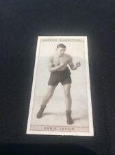 Ernie Jarvis 21 1928 Ogdens Boxing Cigarette card Boxer Pugilists in action